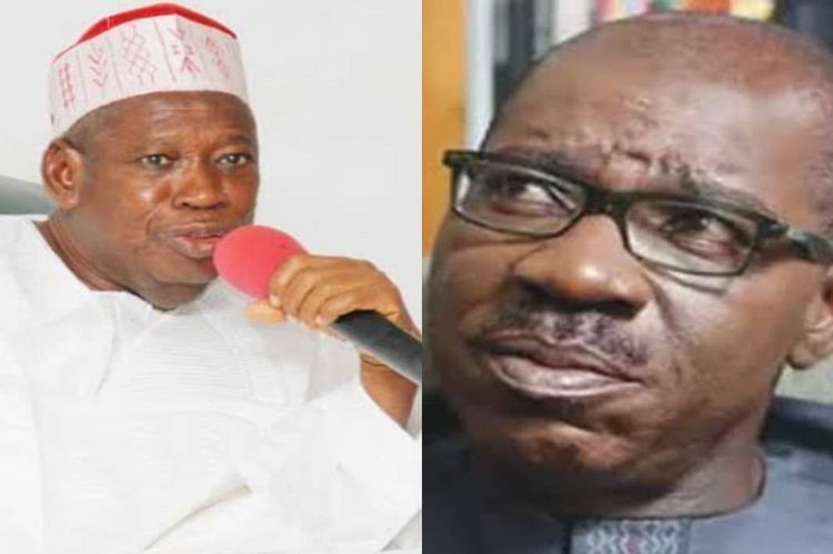 Governor Obaseki is a liability and his performance in office is woeful - Governor Ganduje
