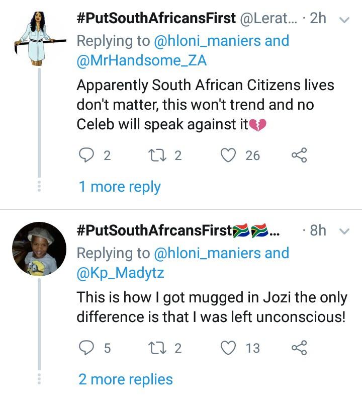 Man gets mugged in broad daylight in Johannesburg