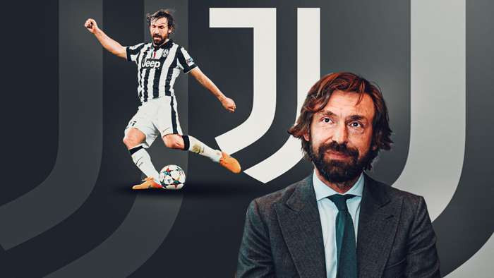 Juventus name club legend Andrea Pirlo as new coach after Maurizio Sarri sacking