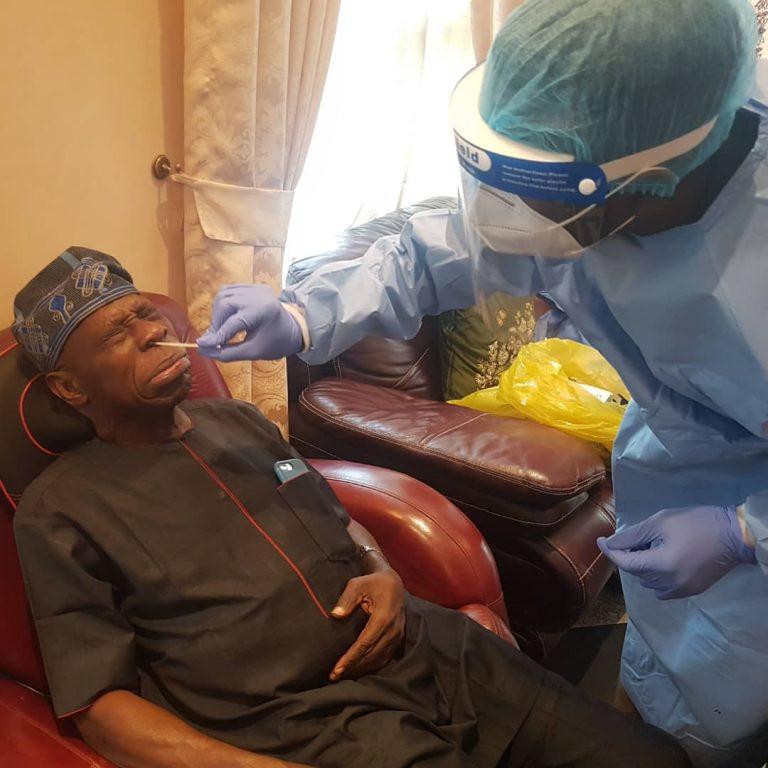Ex-president, Obasanjo undergoes Covid-19 test