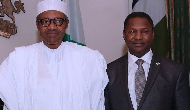 I owned lucrative businesses ? Malami writes Buhari after being accused of using public office to acquire wealth and build an empire