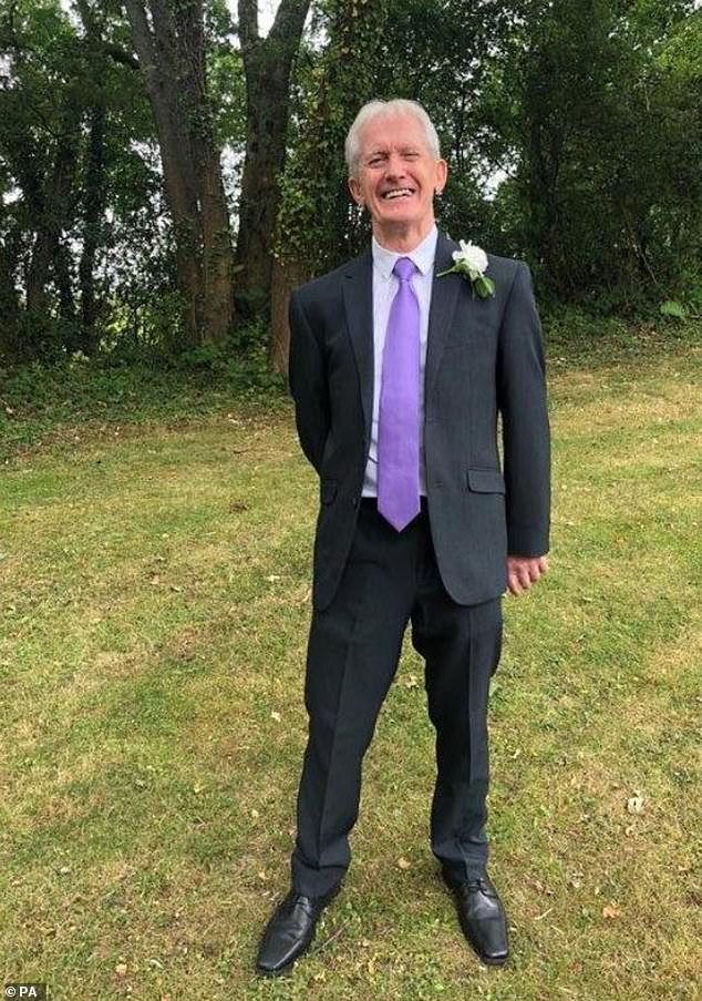 Son, 55, is jailed for life for stabbing his father, 76, to death over internet speed