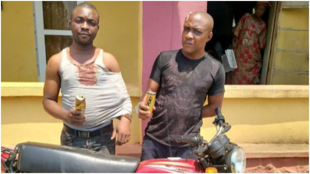 Motorcycle thieves arrested in Ogun state