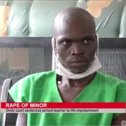 Teacher sentenced to life imprisonment for raping his pastor