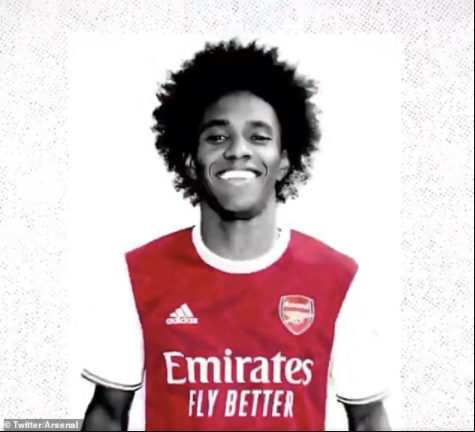 Arsenal confirm signing of ex-Chelsea winger Willian on a three-year deal