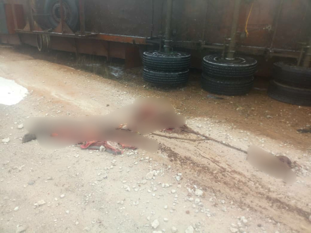 One crushed to death in fatal accident in Anambra (photos)