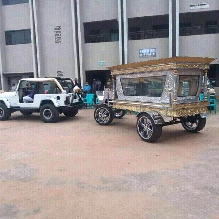 Photos from the elaborate funeral of late Chief Anthony, CEO of Tonimas Oil and Gas, as it