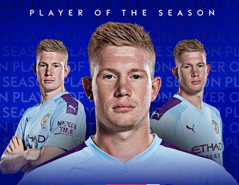 Kevin De Bruyne beats Liverpool trio Jordan Henderson, Sadio Mane and Trent Alexander-Arnold to win Premier League Player of the Season
