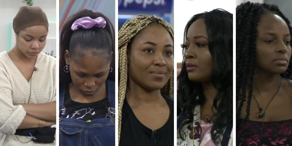 #BBNaija: Big Brother issues final warning to Nengi and Kaisha over their clash that almost turned violent (videos)