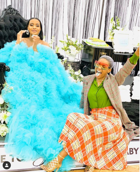 Cassper Nyovest throws baby shower for his fiancee, Thobeka Majozi (photos)
