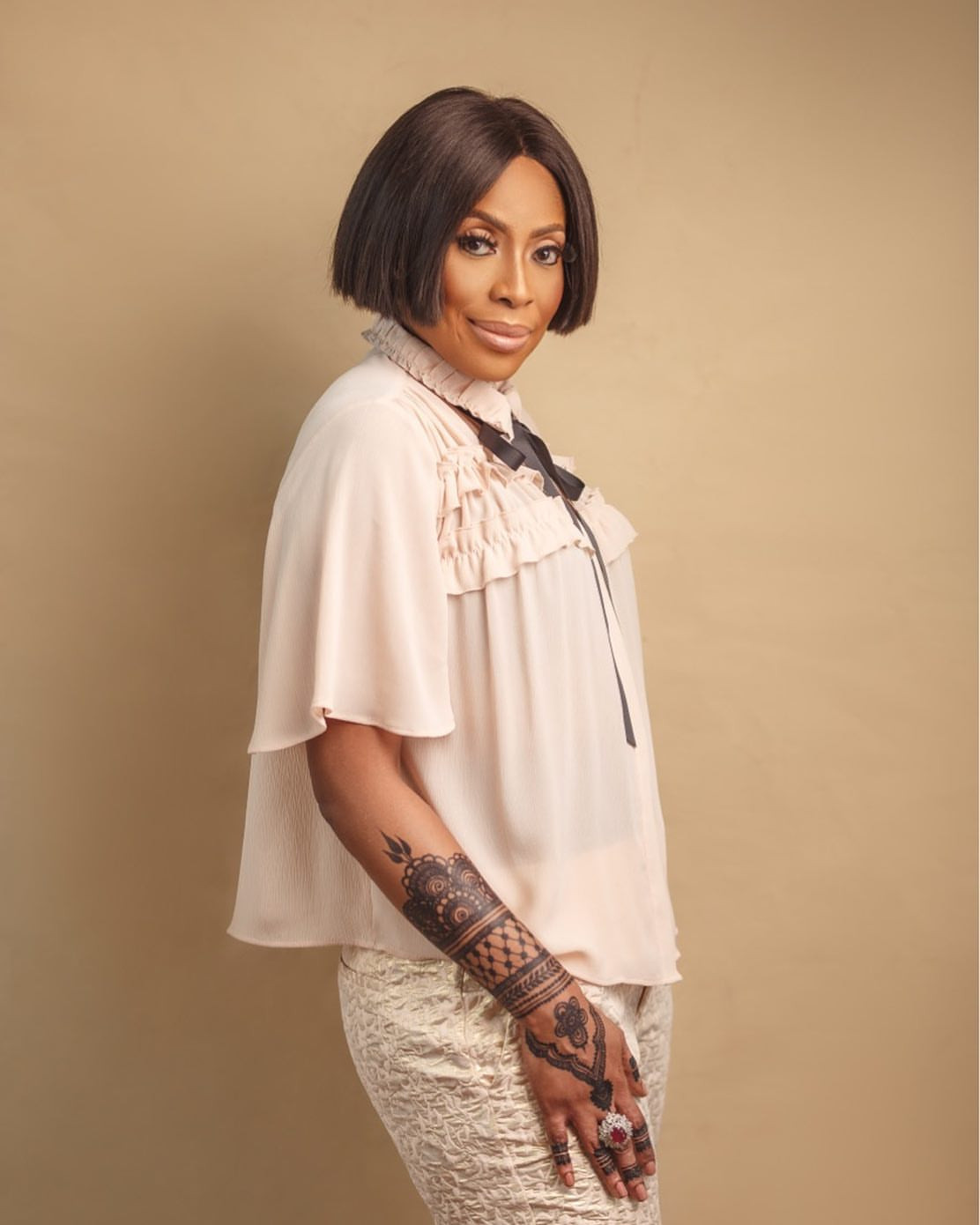Stunning photos of media mogul, Mo Abudu