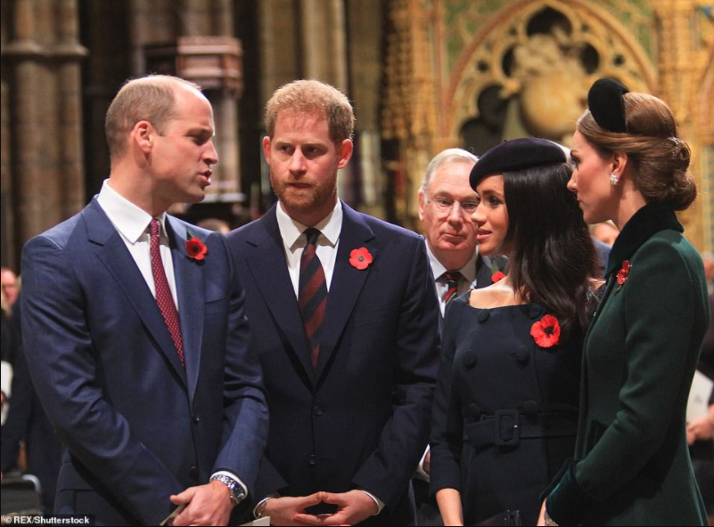 Princes Harry and William ?didn?t speak for two months after falling out over Megxit and still have barely any communication?