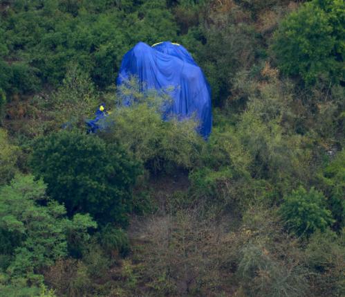 German pilot dies in hot air balloon crash