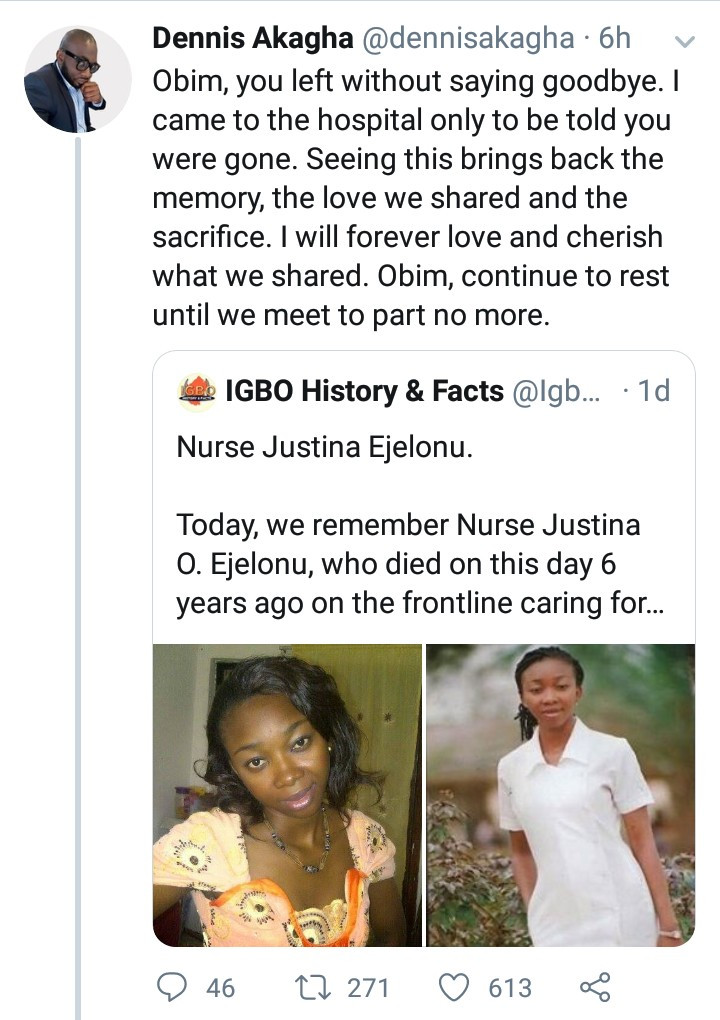 Fianc? of pregnant nurse who died after contracting Ebola in Nigeria reveals he suffered PTSD for 4 years