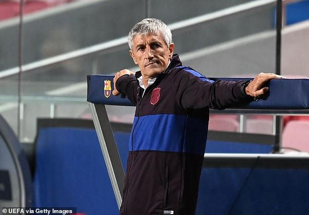 Barcelona formally sack Quique Setien after Bayern Munich humiliation with Ronald Koeman set to switch him