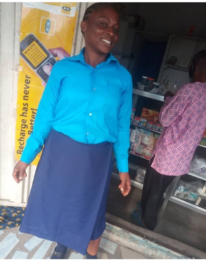 48-year-old farmer without previous education sits for WAEC with her child