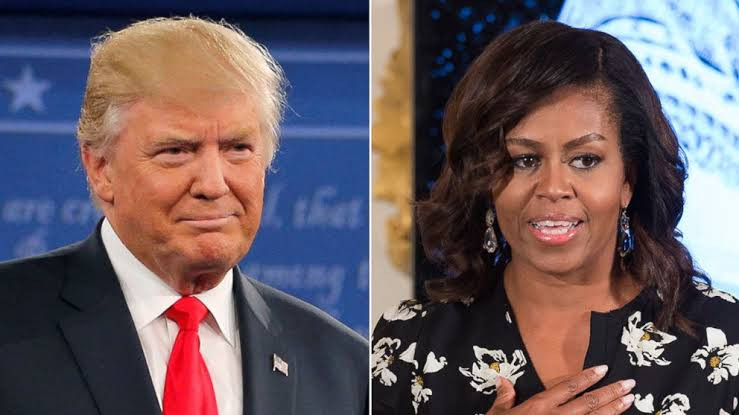 Donald Trump lashes out at Michelle Obama following her endorsement of Joe Biden