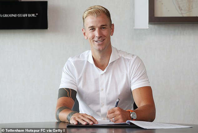 Ex-Manchester City goalkeeper, Joe Hart completes shock transfer to Tottenham Hotspur?(Photos)