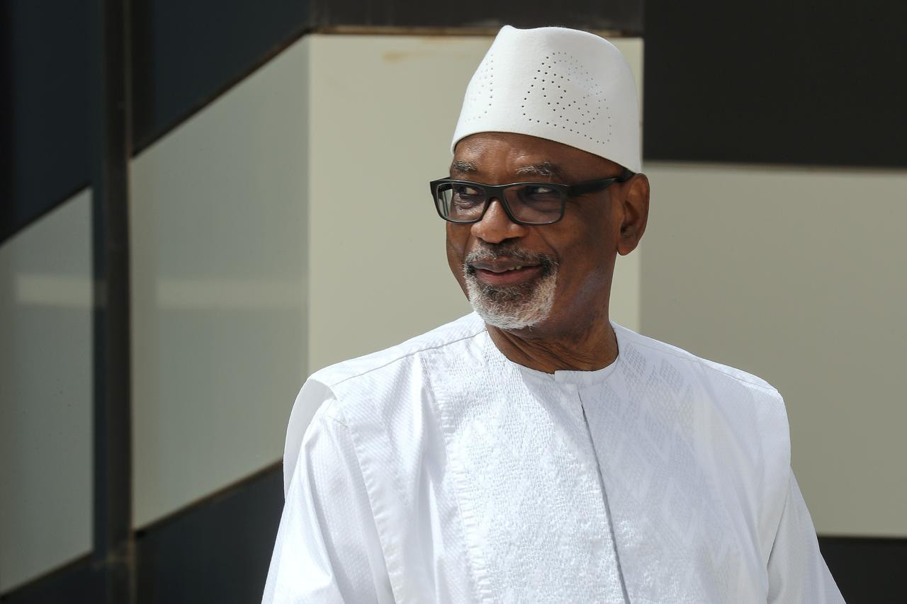 Mali President, Ibrahim Boubacar Keita announces resignation after his arrest by mutinous soldiers in a suspected coup