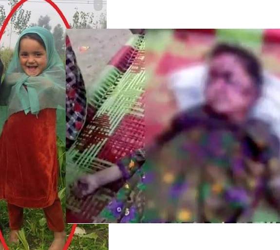 Outrage as 6-year-old girl is raped, tortured and bludgeoned to death with stone in Pakistan (graphic photo)