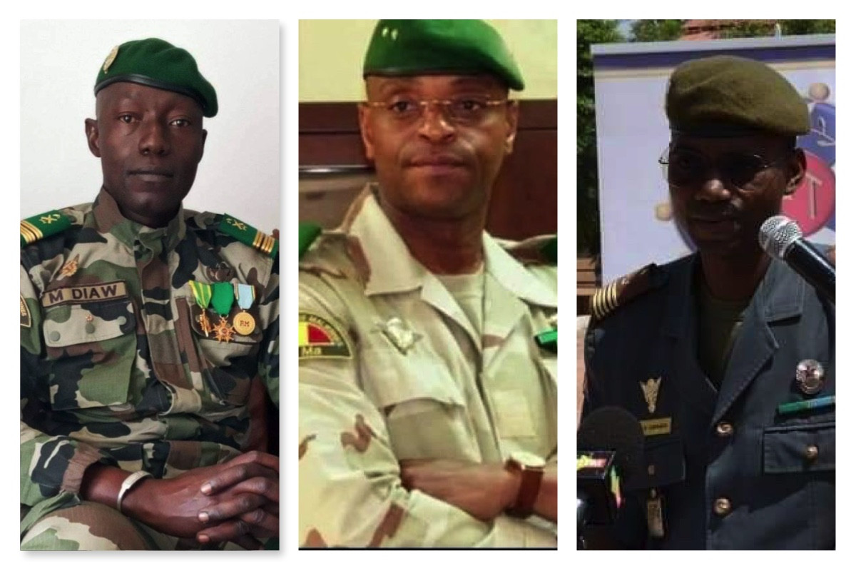 Faces of Mali coup leaders unveiled