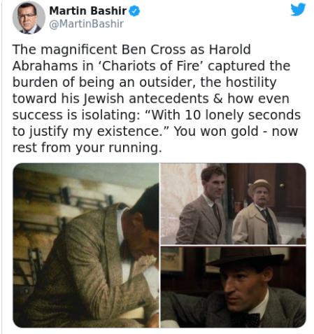 ?Chariots of Fire? and ?Star Trek? star, Ben Cross dead at 72