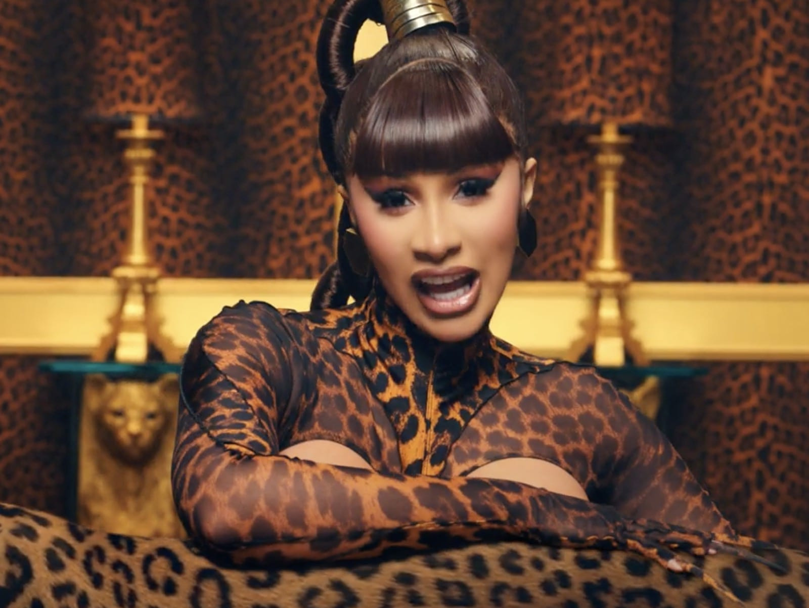 Jesus is not the reason for your success - Nigerian man tells Cardi B after she praised God for the success of her son