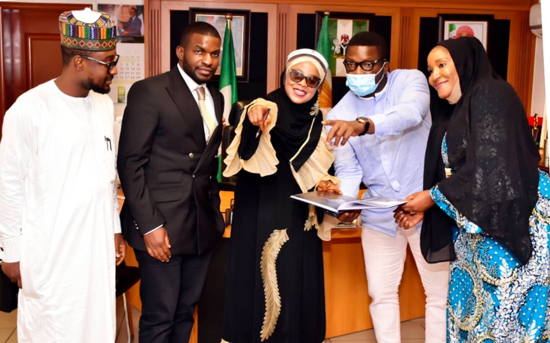 Sujimoto Meets With a Rare Gem, The Mayor of FCT - Minister of State, DR. (Mrs) Ramatu Tijjani Aliyu ? By Sijibomi Ogundele