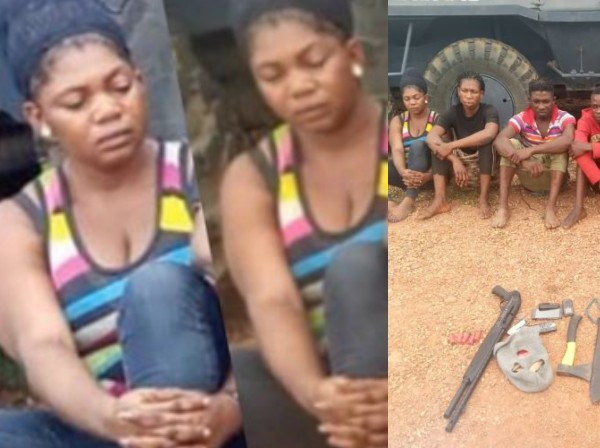Ekiti lady arrested after faking her kidnap to extort her parents