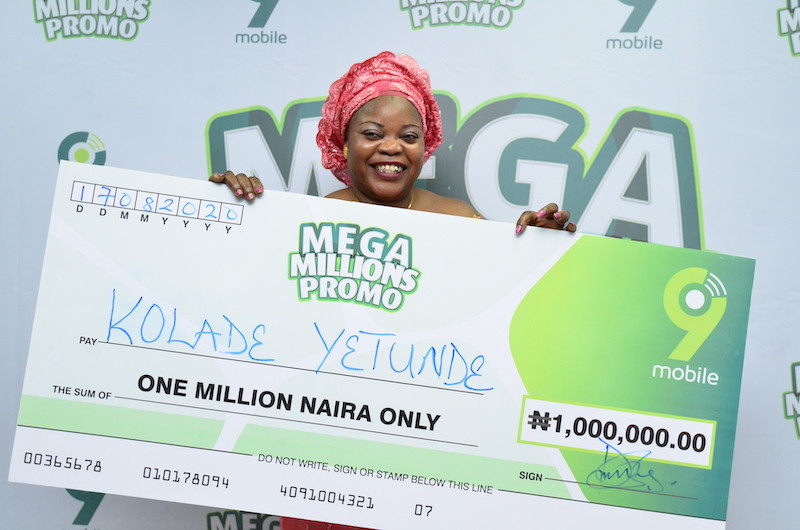 Millionaires and other winners already emerging in the 9mobile Mega Millions Promo!