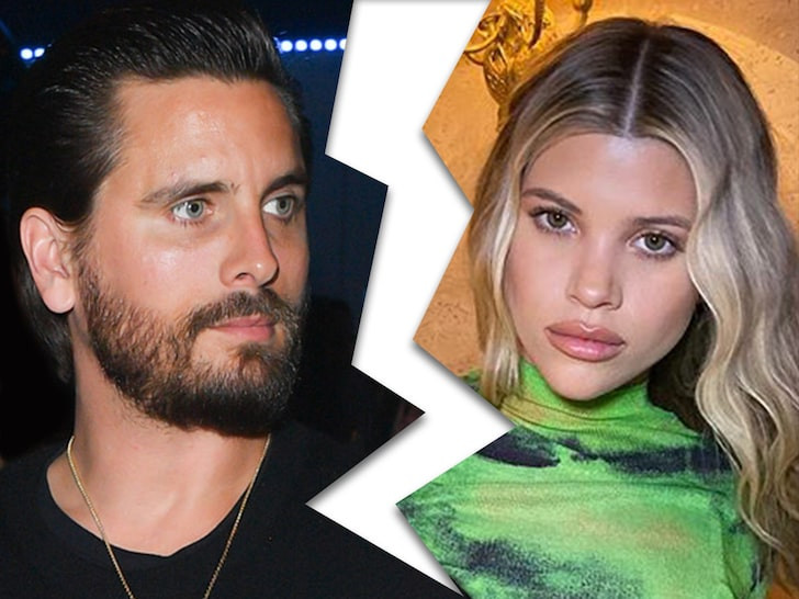 Scott Disick, 37, and Sofia Richie, 21, officially split for good