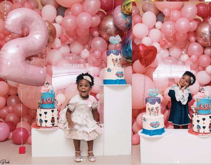 Singer, Patoranking releases beautiful photos of daughter Wilmer to celebrate her on her 2nd birthday