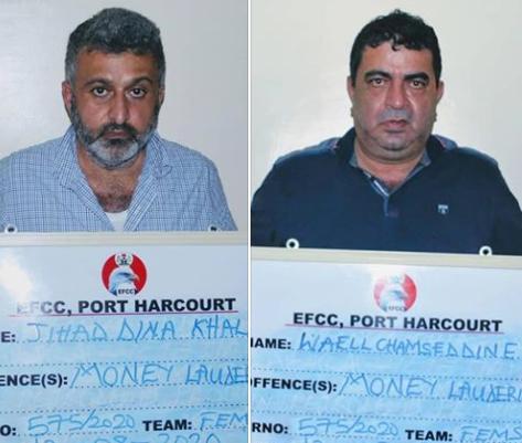 Rivers court jails two Lebanese for money laundering