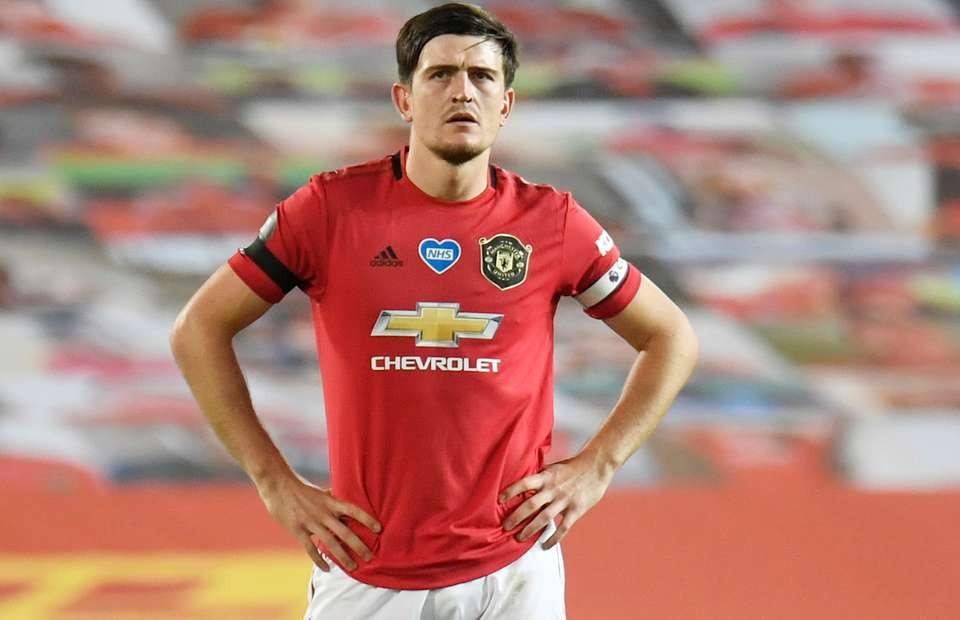 Manchester United, captain Harry Maguire