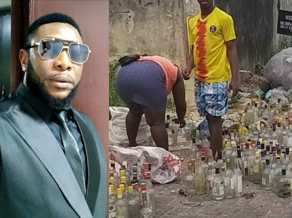 They don?t recycle, they rinse - Tchidi Chikere fires back at follower over groundnut bottles picked from dustbin heap