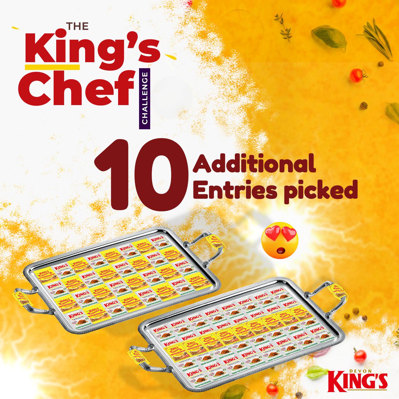 40 Chefs progresses as battle heats up for Devon King?s #TheKingsChef