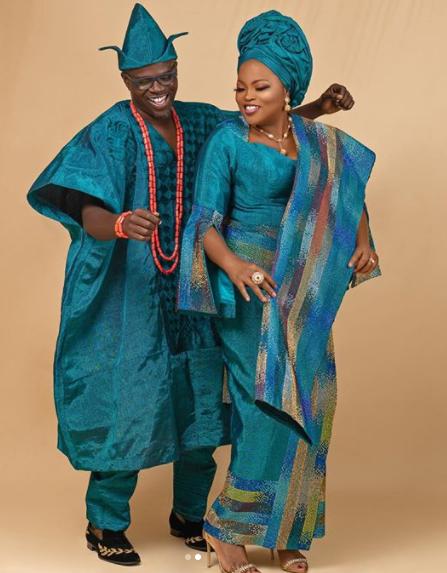 Funke Akindele Bello and husband JJC Skillz celebrate 4th wedding anniversary with beautiful photos