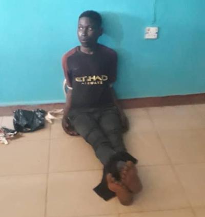 Ibadan suspected serial killer has been re-arrested (photo)