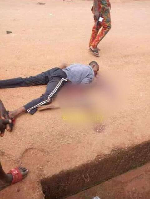Three feared dead as IPOB members and security agents clash in Enugu (graphic)