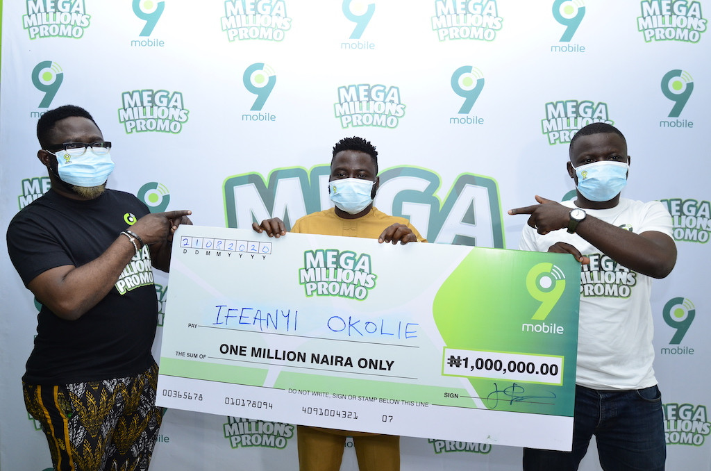 More customers are winning big in the 9mobile Mega Millions Promo