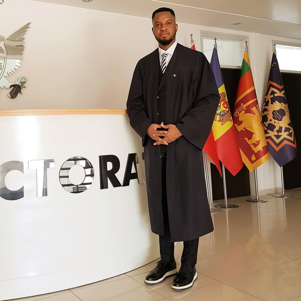 I made a promise to myself to upturn a negative prophecy spoken over me when I was 8 - Nigerian man says after becoming an Associate Professor in Cyprus