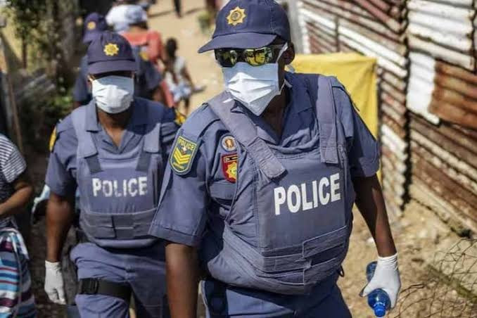 One child killed and another injured by stray bullets after illegal residents clash with police in South Africa