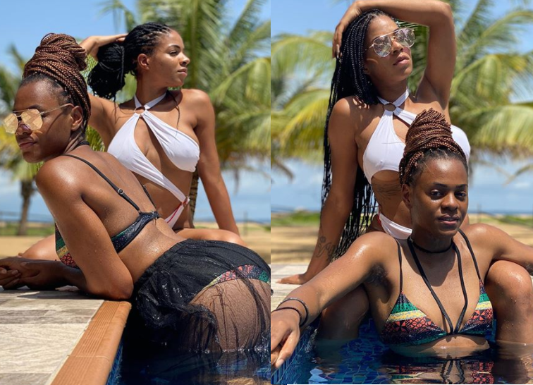 Venita Akpofure and Jackye Madu flaunt their bikini bodies in new sexy photos