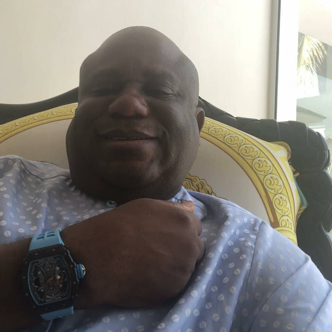 Billionaire businessman, Terry Waya shows off his very expensive watches (photos)