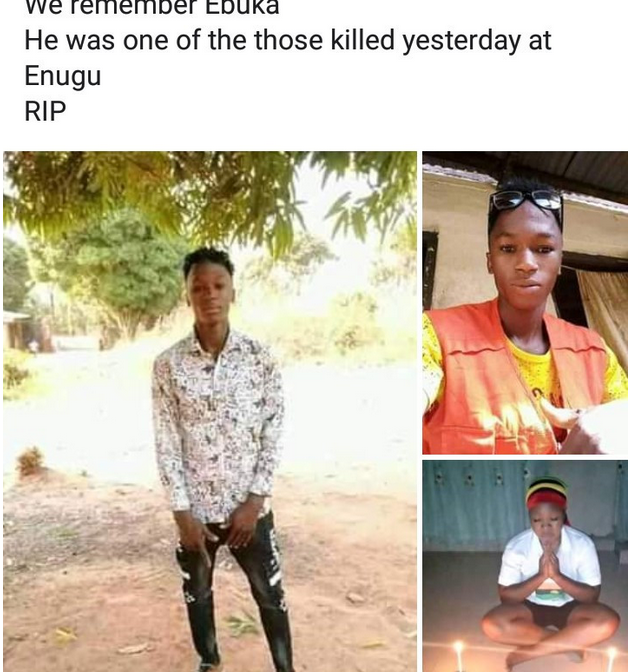 Identity of one of the IPOB members killed in clash with SSS in Enugu state is revealed as friends mourn him