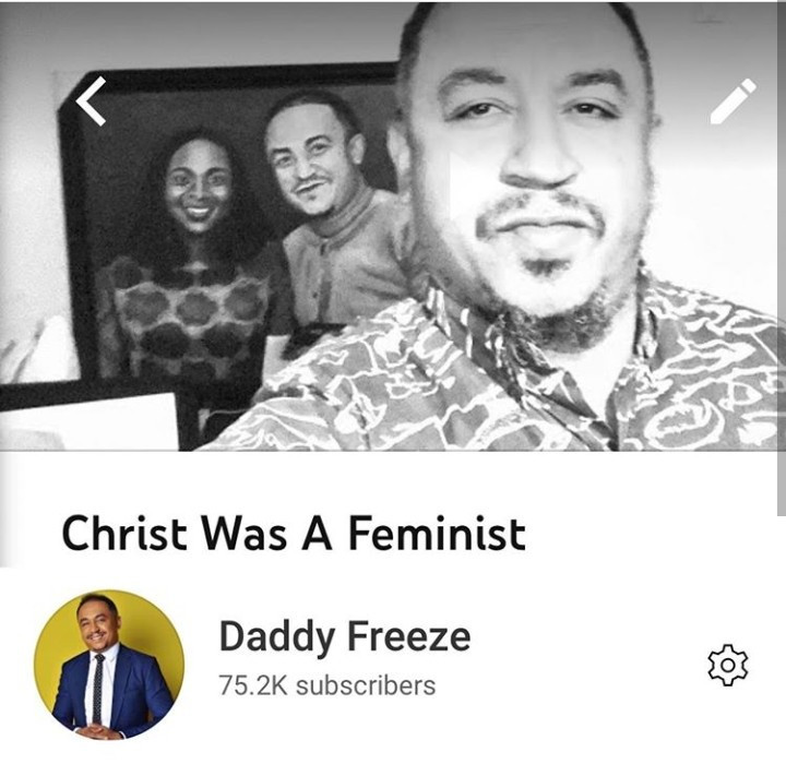 """""""Christ was a feminist"""" Daddy Freeze says and gives reasons (video)"""