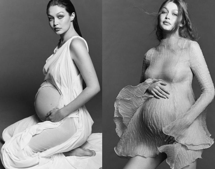 Supermodel, Gigi Hadid shares beautiful maternity photos