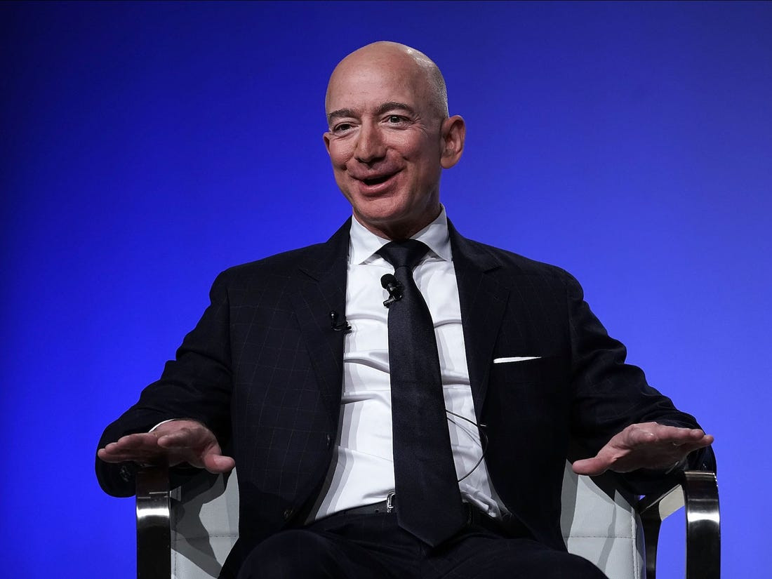 Amazon CEO, Jeff Bezos becomes the World?s first person to have a net worth of $200 billion