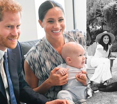 Meghan Markle praises Prince Harry for being a proud