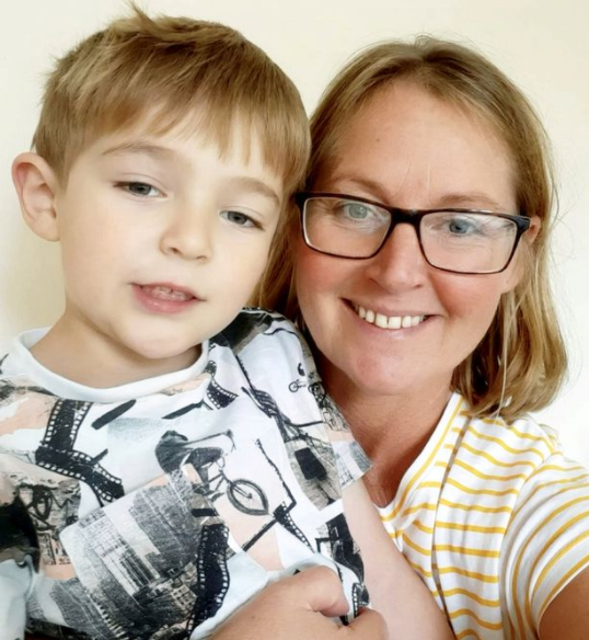 Brave boy, 5, saves mum